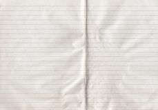 Double sheet lined paper Royalty Free Stock Photo