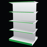 Double shelf Royalty Free Stock Images