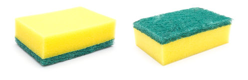 Double side cleaning sponge Royalty Free Stock Photos