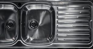 Double sink Stock Photo
