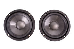 Double speakers Stock Image