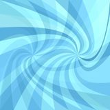 Double spiral background - vector graphic from rays in light blue tones. Double spiral background - vector graphic from twisting rays in light blue tones Stock Photography
