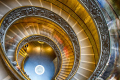 A double spiral staircase in Vatican Royalty Free Stock Image