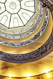 A double spiral staircase in Vatican Stock Images