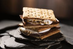 Double Stacked Smores Stock Photography