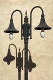 Double street light Stock Photo