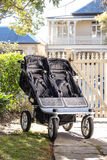 Double stroller Royalty Free Stock Photography