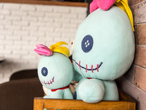 Double Stuffed toy Stock Images