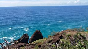 Double surveillance de point d'île Images stock