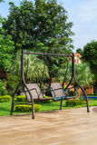 Double swings Royalty Free Stock Photos