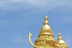 Double Thai Pagoda Stock Photography