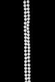Double thread of pearls Stock Photos