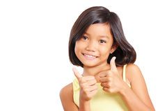 Double Thumbs Up Royalty Free Stock Photos