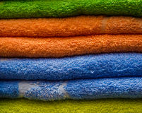 Double towels Stock Photos