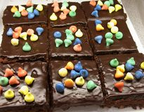 Double Treat Brownies Royalty Free Stock Image