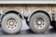 Double truck wheel Stock Image