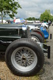 Double Twelve Motorsport Festival event at Brooklands. Royalty Free Stock Photos