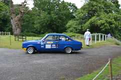 Double Twelve Motorsport Festival event at Brooklands. Royalty Free Stock Images