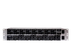 Double ULTRAZONE 8 Channel 3 Bus Mic Line Zone Mixer Royalty Free Stock Photos