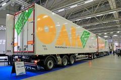 Double vert de CHÊNE véhicule de combinaison de 88 tonnes Images libres de droits