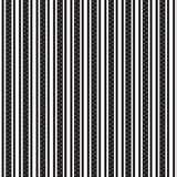 Double vertical black striped and white star inside wide striped Royalty Free Stock Photos