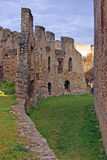 Double wall of medieval citadel Stock Photography