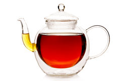 Double wall thermo teapot Stock Photo