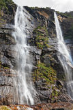 The double waterfall Royalty Free Stock Photography
