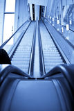 Double way escalator Royalty Free Stock Images