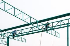 Double welder Stock Photography
