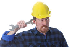 Double wrench on ear Stock Images