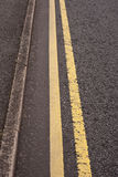 Double Yellows Royalty Free Stock Photo