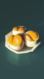Double-yolk eggs cover Royalty Free Stock Photos