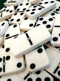 Double zero domino cube Royalty Free Stock Images