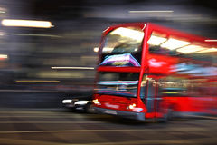 Doubledecker. A doubledecker bus in London in the UK Stock Images