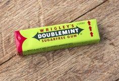 Doublemint guma do żucia Zdjęcie Stock