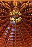 Doubles dragons d'or Photographie stock libre de droits