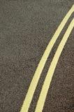 Doubles jaunes Photo libre de droits
