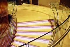 DoubleTree希尔顿 旅馆的现代内部 图库摄影