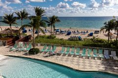 DoubleTree Resort Hotel Ocean Point, North Miami Beach Royalty Free Stock Image