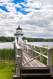 Doubling Point lighthouse Royalty Free Stock Photos