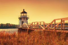 Doubling Point Lighthouse Royalty Free Stock Photography