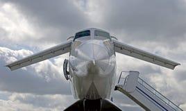 Doublure 1 du Tupolev 144 image libre de droits