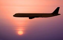 Doublure d'avion à réaction image libre de droits