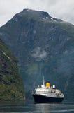 Doublure dans le fjord Images libres de droits