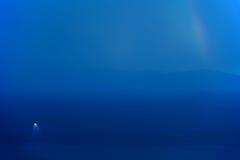Doublure et arc-en-ciel de vitesse normale Image libre de droits
