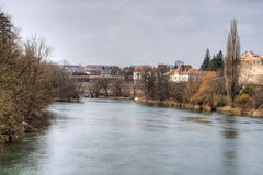 The Doubs River Royalty Free Stock Photography