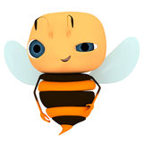Doubt. Cartoon 3d character like a doubt bee stock illustration