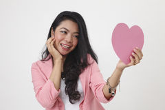 Doubt about love Royalty Free Stock Photography