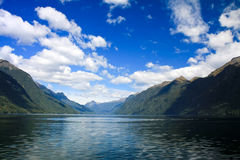 Doubtful Sound Stock Photography